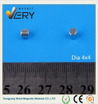 Dia4x4mm Plastic surface grinder magnetic chuck ndfeb magnetic tool made in China