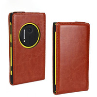 OEM New Cheap Price PU Stand Leather Phone Case for Nokia Lumia 1020