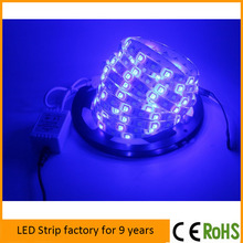 SMD 3528 warm white led flat tape light /flexible led ribbon strips lights 24V