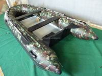 The camouflage inflatable boats with CE for sale!