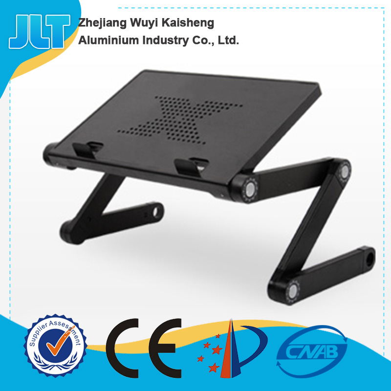 Modern aluminium portable folding computer desk