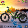 Aluminum Alloy 48V 500w cargo electric beach city tricycle for tour