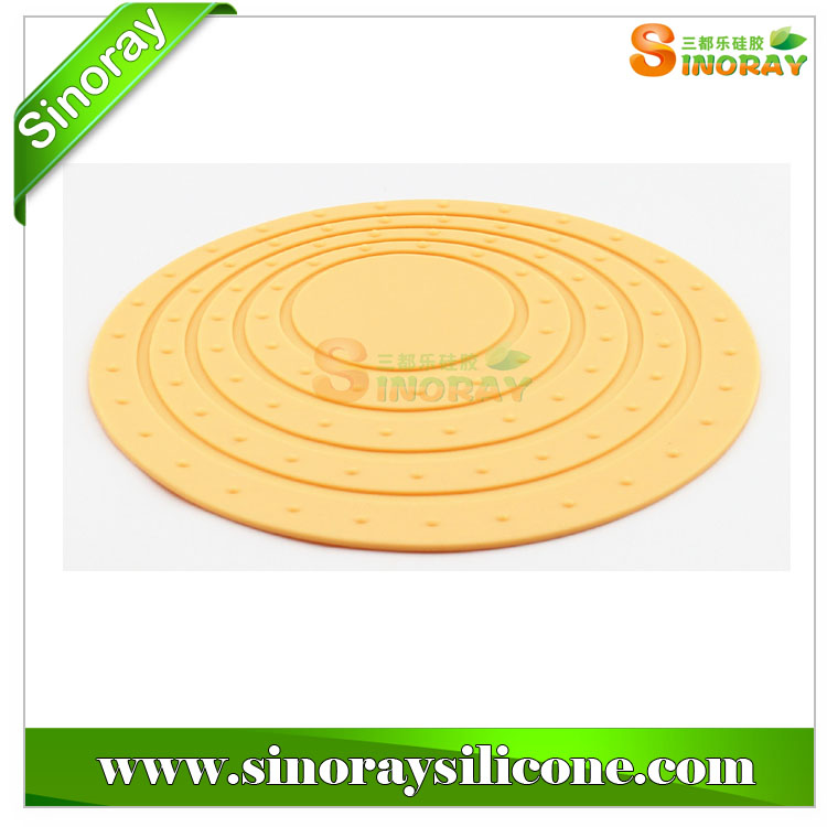2014 Hot Sale Silicone Rubber Trivet