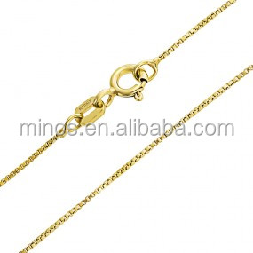 China factory wholesale custom sexy thin gold chain necklace for women link chain jewelry