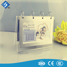Best Selling Magnet Transparence Acrylic Calendar Display for Family