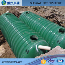 large-scale waste water filter FRP grp septic tank factory