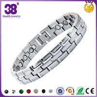 China factory directly sale new arrival energy magnetic titanium bracelet