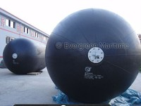 Diameter 2M x Length 4M ISO certificated high quality Evergreen-Maritme pneumatic rubber fenders