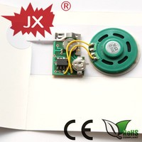 Sound module for greeting cards/custom greeting card sound module