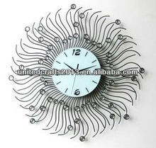 home decoration antique wooden wall clock