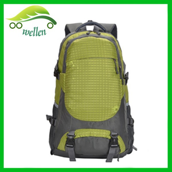 sports waterproof backpack with shoes bag wholesale china