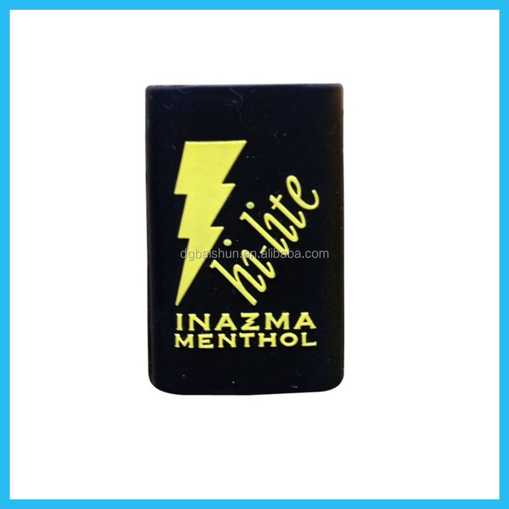 Silicone lighter cover, debossed logo for promotional gifts, lighter cover