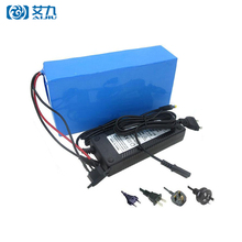 High Capacity Customized 48V 10AH 17AH 20AH Lithium Ion Scooter Battery