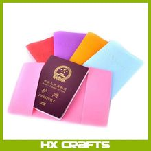 New Travel High quality Silicone Material Passport Holder Case Cover