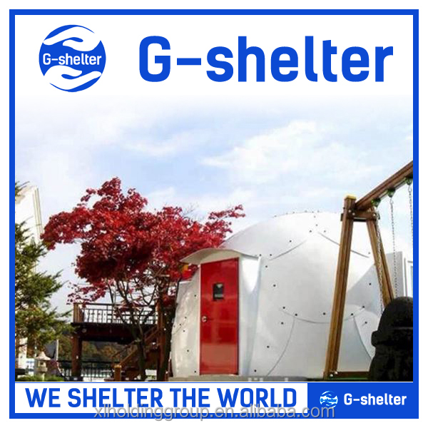 high quality RED CROSS supplier refugee prefab house, prefab home, prefab shelter in alibaba shop