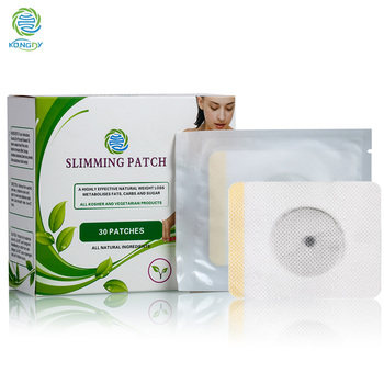 Gald supplier manufacture high quality and natural fat burn slimming patch