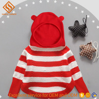 2017 sweater designs for baby girls , girls longsleevegirl pullover kintted hoody sweater