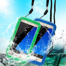 IP68 Plastic Hard PVC Cell phone Shockproof Smartphone Universal Waterproof Phone Case for iphone 5 6 6S waterproof cover