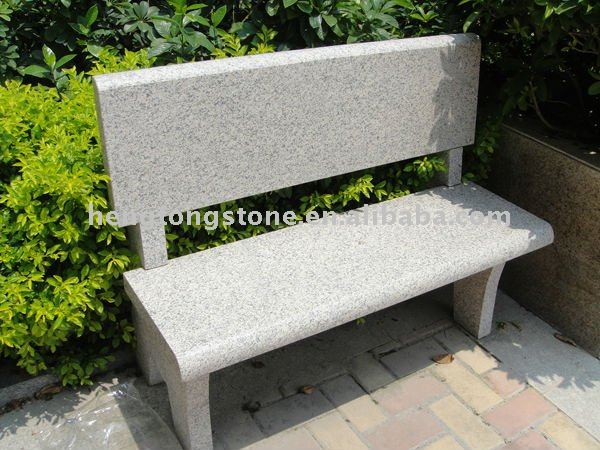 Modern Design Garden Granite Bench