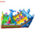 Giant inflatable playground ocean theme inflatable fun city