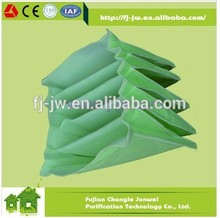 Non-woven Fabric G3 G4 Synthetic Pocket Industry Filter Bag