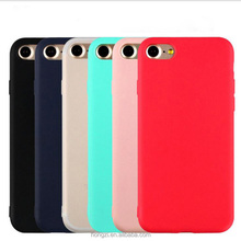High quality Lovely Candy Color Soft TPU Phone Case for iphone 7 7 Plus 6 6s Plus 5 5s Cute Rubber Back Cover Silicone Shell