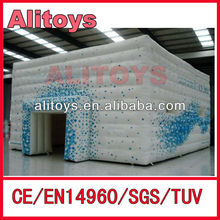 elegance! air cube tent design/cube tent building/cube tent inflatable