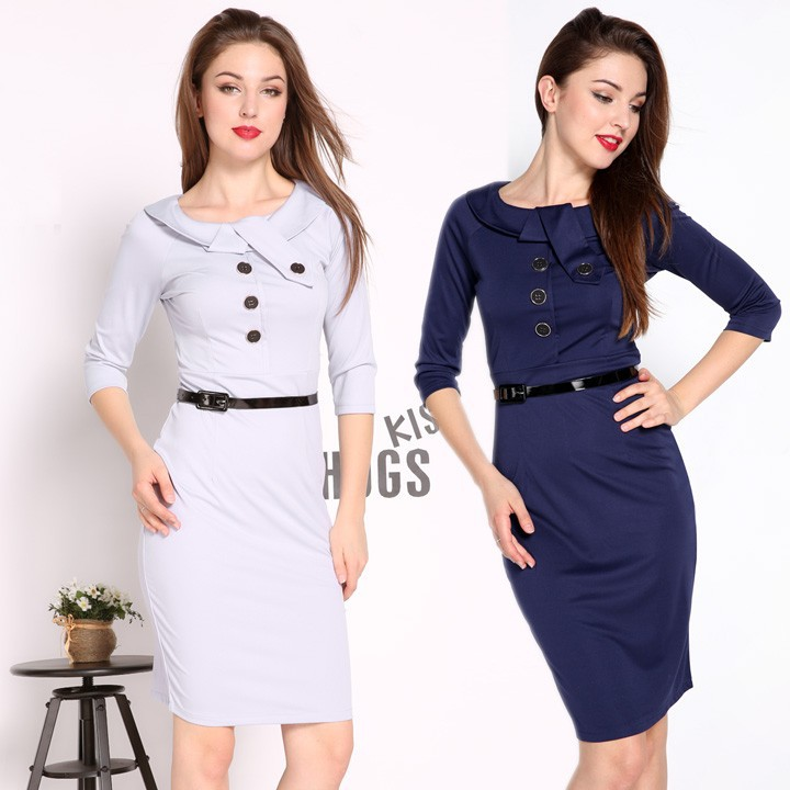s bodycon business casual pencil dress for office sv008025 buy