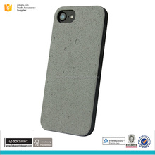 Factory price cement phone case with TPU back cover for iphone 7