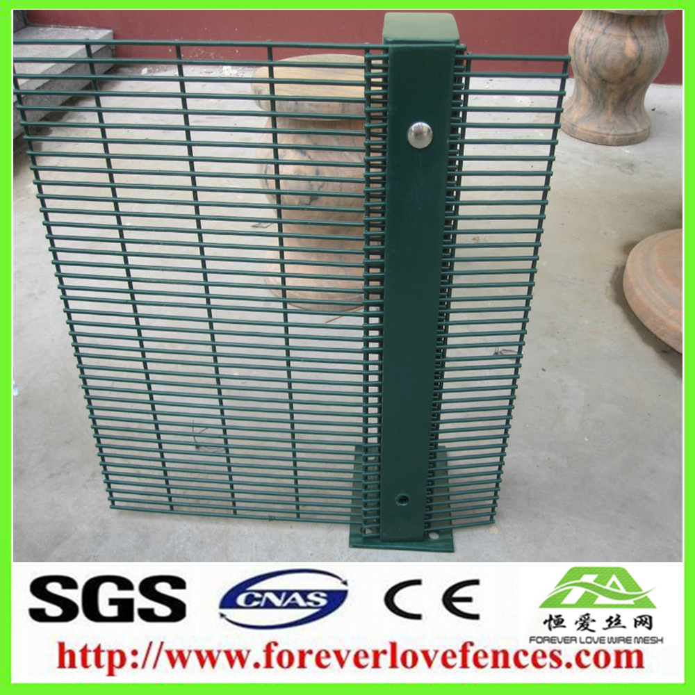 supply strong Anti-climb Weld Mesh Fence/358 Mesh Fence made in china