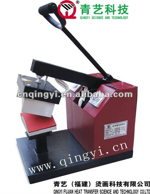 QY-A6 Manual Cap heat transfer press machine