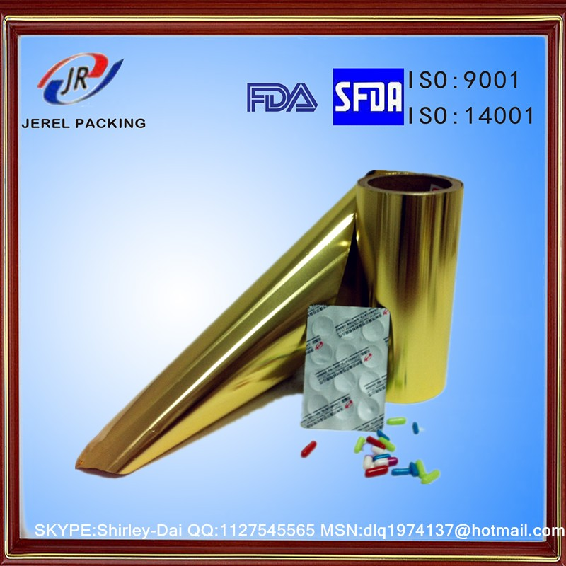 Pharmaceutical Aluminium Foil for PTP Blister Packs