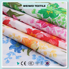 custom different kinds of 100% polyester printing quilted mattress fabric