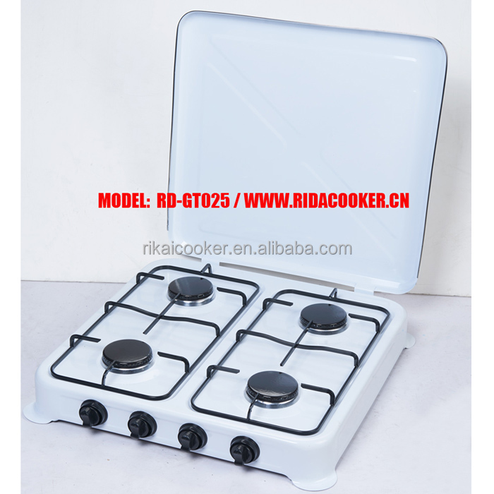 RD-GT025 4 Burner European style gas cooker gas cooktop European style gas stove
