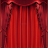 made curtains velvet stage curtains