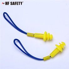Custom wholesale noise cancelling safety silicone ear plugs for safety glasses
