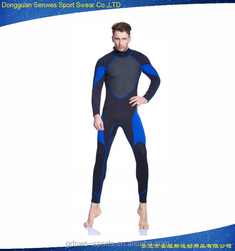Anti bacterial custom logo men 3 mm fullbody wetsuit diving surfing