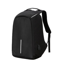 Anti - Theft Travel <strong>Backpack</strong> Men And Women Large Capacity Computer Bag USB Charging Shoulder Bag