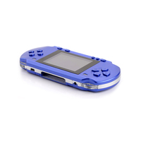 Handheld Game Console, 3 Inch 300 Classic Games Retro Portable Video Game Player, Ideal Gift for Boy Kids Adult - Blue