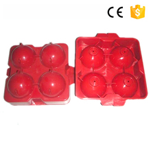 Wholesale Food grade food grade good design custom ice cube tray flower shaped plastic ice cube tray