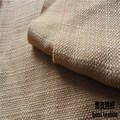 best selling 100% polyester hometextile imitation linen fabric for garment