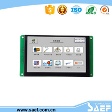 4.3 inch tft lcd touch panel with driver usb 2.0 to rs232 Controller Board Industrial real-time FORTRAN