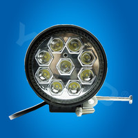 New design! 9-32v 27w heavy equipment work lights led Factory led tractor working lights used cars for sale belgium