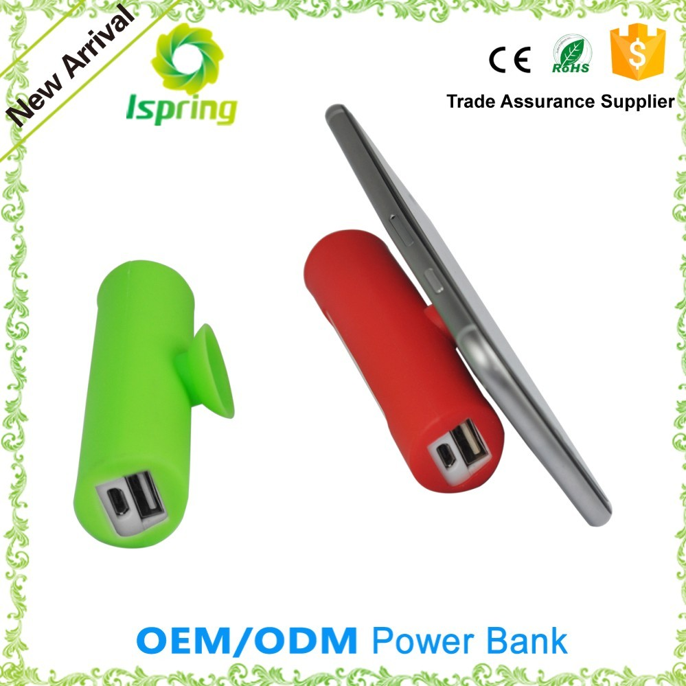 Mini 2600mAh External Battery Pack Portable Power Bank Charger for iPhones
