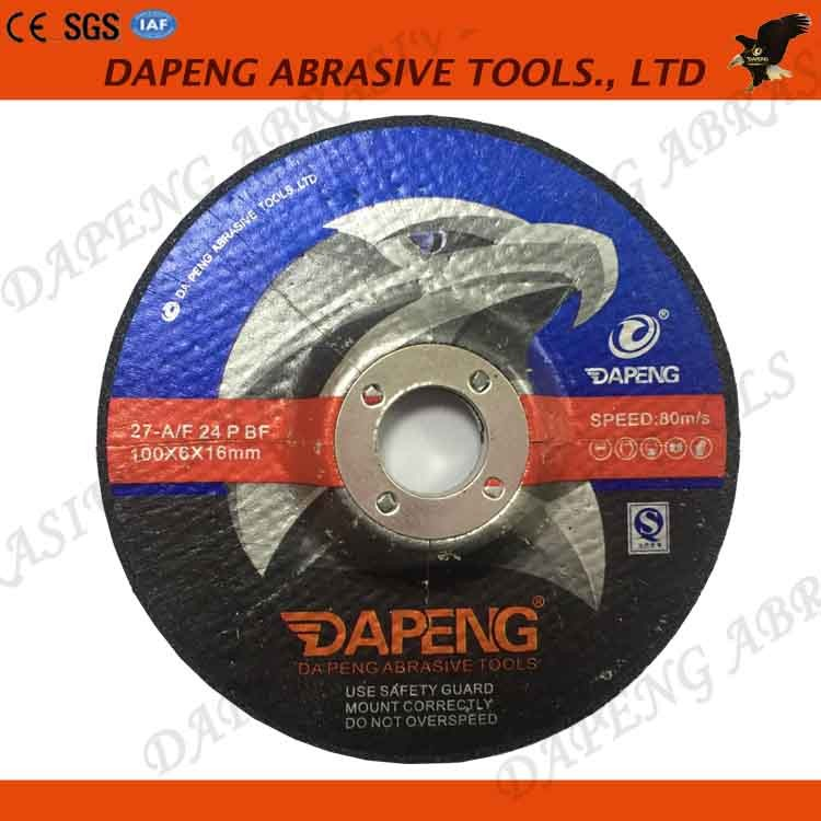 hot sale 100x6x16mm reinforced resin grinding wheel for cast iron
