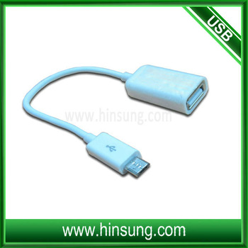 Micro usb otg cable for samsung galaxy
