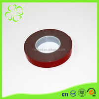 Hot Sale Black Acrylic Red Line Excellent Double Sided Foam Tape