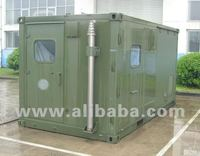 Mobile shelters for communication, military/civil command, satellites, radio, TV broadcasting, medical, police, supervising purp