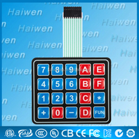 tactile Custom Membrane Switch keyboard