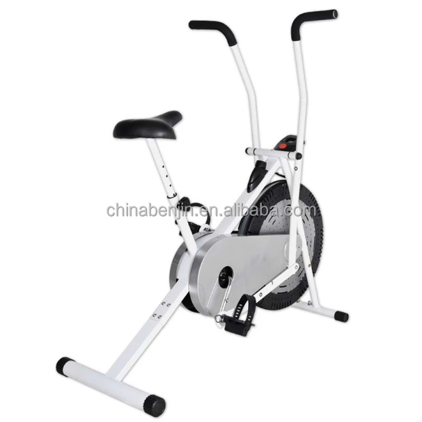 Home Gym Office Fitness Air Bike Indoor Exerciser Running Cycle Body Legs Abdominal Workout Power Building Spinging Bicycle